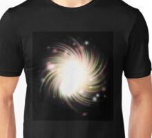 Abstract colorful exploding star Unisex T-Shirt