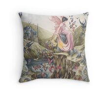 Queen of the Summer Sun Throw Pillow