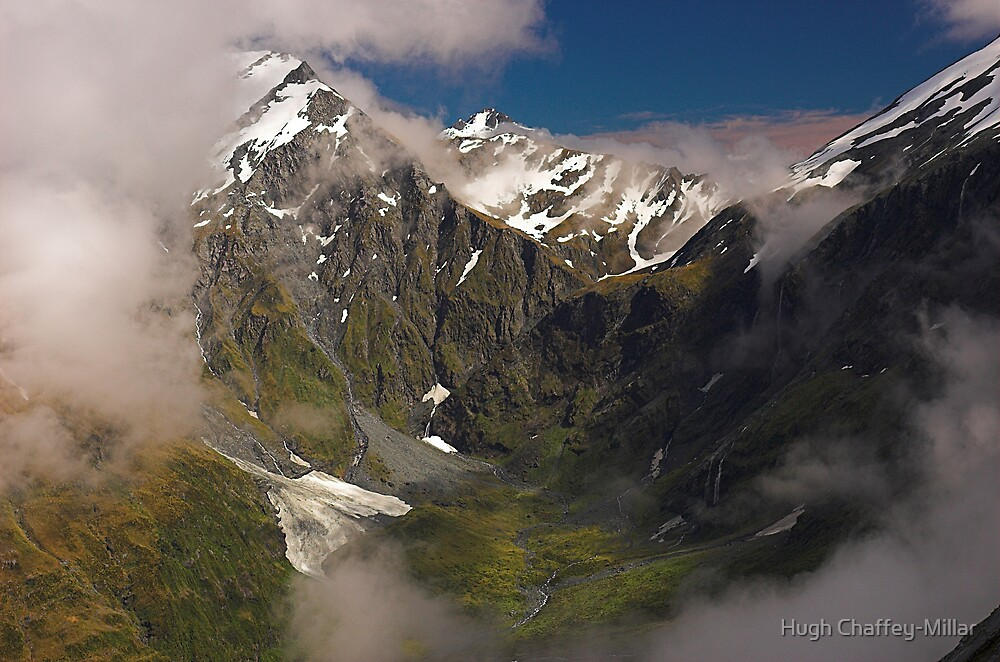Matukituki Valley, Mt Aspiring NP, New Zealand by Hugh Chaffey-Millar