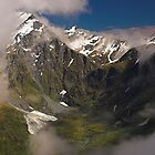 Matukituki Valley, Mt Aspiring NP, New Zealand by Hugh Chaffey-Millar