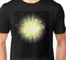 Abstract colorful exploding star 3 Unisex T-Shirt