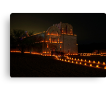 The Night of the Luminaries Canvas Print