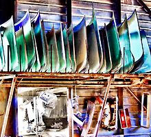 Windshields And Taillights by Sandra Moore