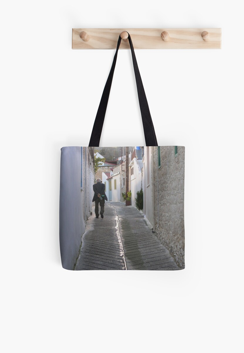 Quot an old man tote bags by brixhamart redbubble