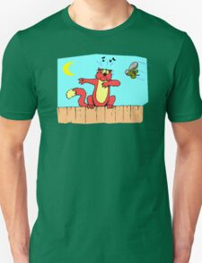 Cat On Fence T-Shirt