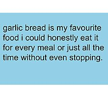 Scott Pilgrim - Garlic Bread Photographic Print