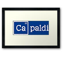 Capaldi, the 12th Element Framed Print