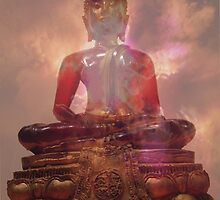 """... and Buddha said  """"I am well pleased - not that that matters"""" by mklau"""