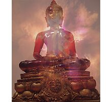 "... and Buddha said  ""I am well pleased - not that that matters"" Photographic Print"