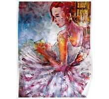 Ballet Dancer Art Prints & Gifts - Waiting Poster