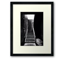 The Way Is Open Framed Print