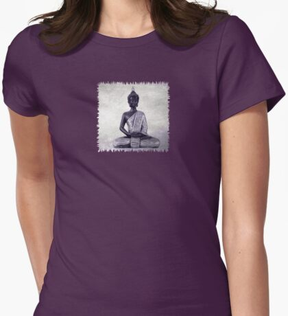 Buddha - JUSTART © Womens Fitted T-Shirt