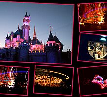 Disneyland at Night by Koala