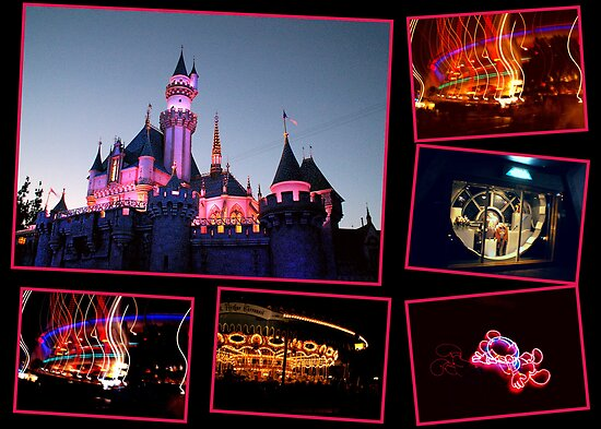 Disneyland at Night by Koala