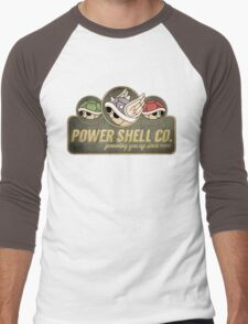 Power Shell Co. Men's Baseball ¾ T-Shirt