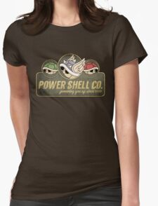 Power Shell Co. Womens Fitted T-Shirt