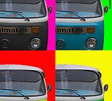 Pop Art Campers by kingbob85