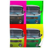 Pop Art Campers Poster