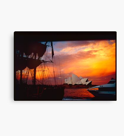 come sail with me......  Canvas Print