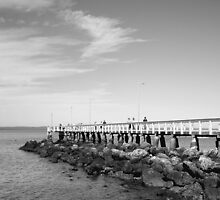 Wellington Point Jetty by Renee Matheson