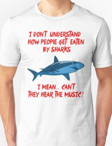 Sharks - Hear The Music Unisex T-Shirt