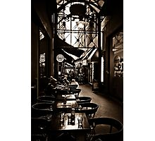 Arcade Dining Photographic Print