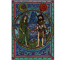 Beltane (the Goddess and the God) Photographic Print