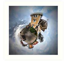 East Brother Island - Little Planet Art Print