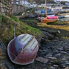 Low tide on the slip by Mortimer123