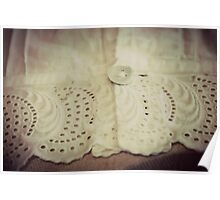Lace - Embroidery - JUSTART © Poster