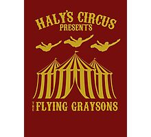 The Flying Graysons Photographic Print