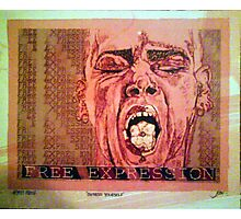 Free Expression Photographic Print