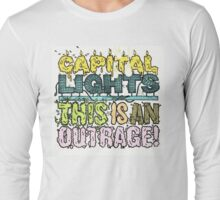 Capital Lights - Outrage Long Sleeve T-Shirt