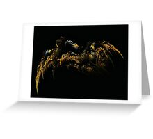 Alien Spider Lair Greeting Card