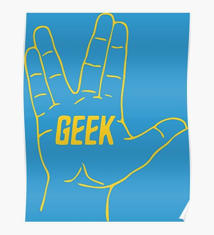 Live Geek and Prosper Poster