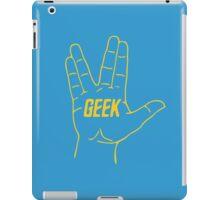Live Geek and Prosper iPad Case/Skin