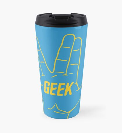 Live Geek and Prosper Travel Mug
