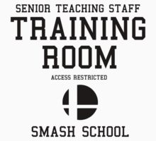 Smash School Training Room (Black) by Nguyen013