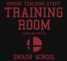 Smash School Training Room (Red) by Nguyen013