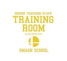 Smash School Training Room (Yellow) Photographic Print