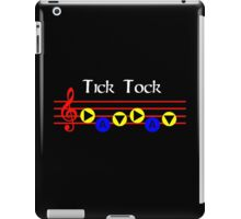 Tick Tock - Song Of Time iPad Case/Skin