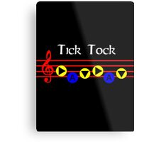Tick Tock - Song Of Time Metal Print