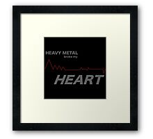 Fall Out Boy - Heavy Metal Broke My Heart Framed Print