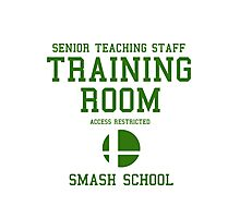 Smash School Training Room (Green) Photographic Print