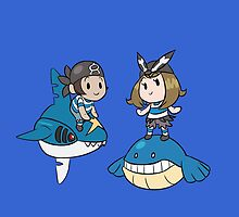 Team Aqua - May and Brendan by Luxen