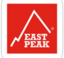 East Peak Apparel - Red Square Small Logo Sticker