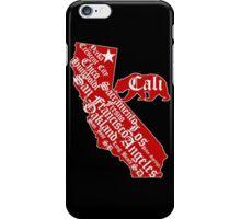 California State Bear (vintage distressed look) iPhone Case/Skin