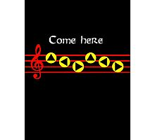 Come Here - Epona's Song Photographic Print