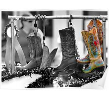 Cowgirl Couture II Poster
