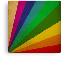 Color Rays Canvas Print